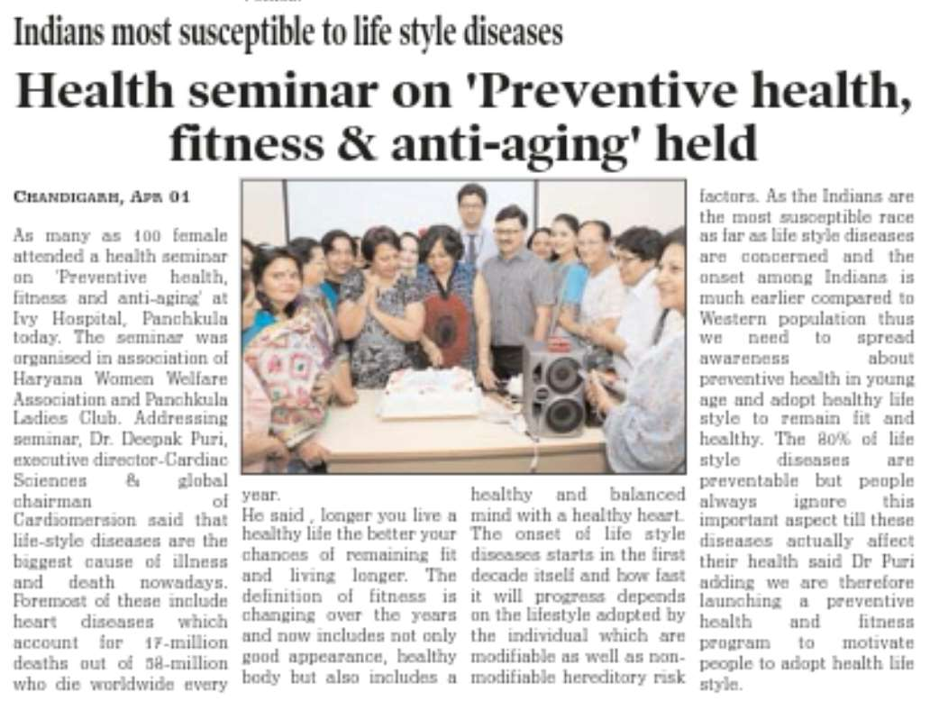 Coverage updates of Health Talk