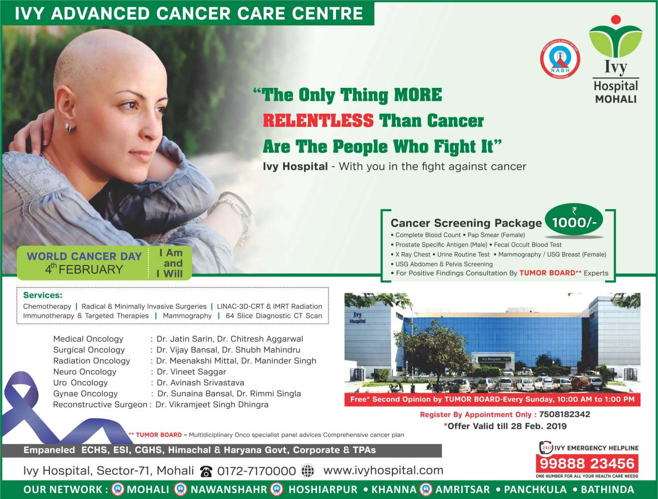 IVY Advanced Cancer Care Center